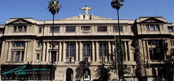 دانشگاه ملی شیلی -برترین دانشکده های معماری جهان