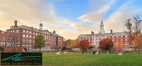 دانشگاه هاروارد -برترین دانشکده های معماری جهان