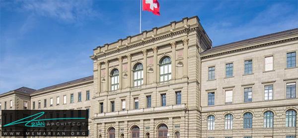 دانشگاه زوریخ سوئیس -برترین دانشکده های معماری جهان