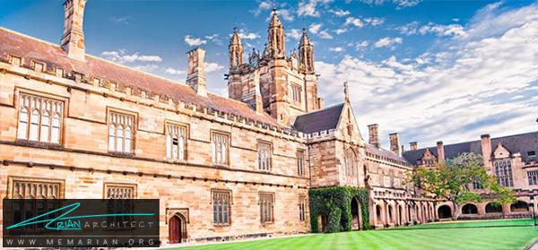 دانشگاه سیدنی -برترین دانشکده های معماری جهان
