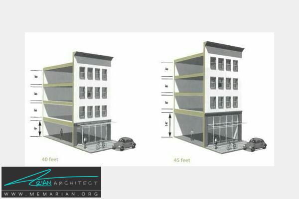 حداکثر ارتفاع سازه ها -نکات کاربردی معماری