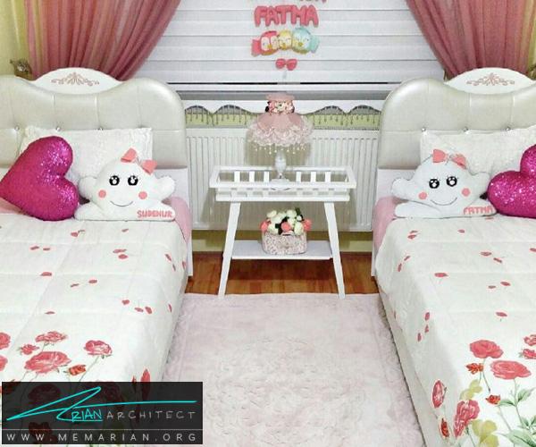 دکوراسیون اتاق کودک - بهترین چیدمان برای اتاق خواب پسر و دختر (2)