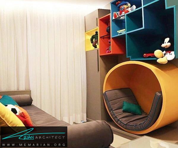 بهترین چیدمان های اتاق کودک و نوزاد دختر و پسر (5)