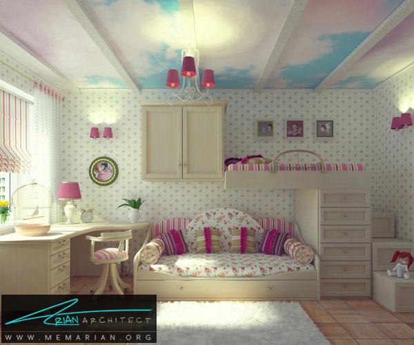 بهترین چیدمان های اتاق کودک و نوزاد دختر و پسر (6)