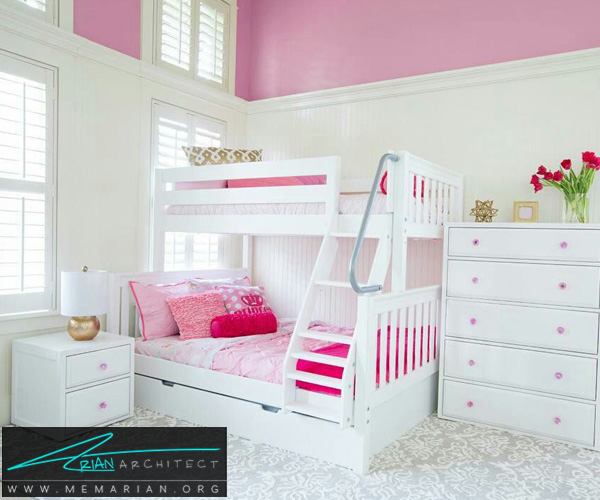 بهترین دکوراسیون اتاق خواب کودکان دختر و پسر (1)