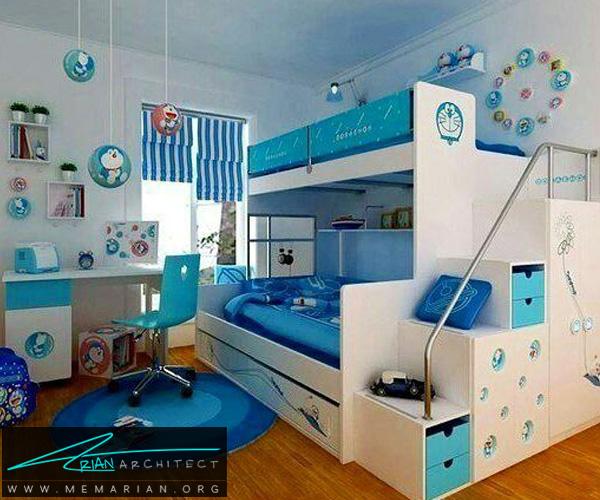 بهترین دکوراسیون اتاق خواب کودکان دختر و پسر (2)