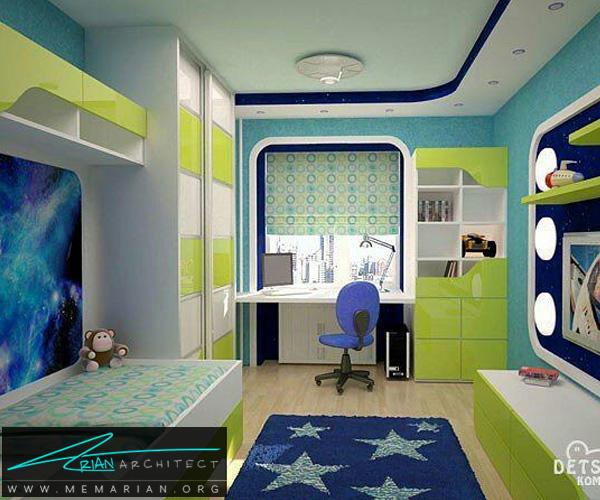 بهترین دکوراسیون اتاق خواب کودکان دختر و پسر (5)