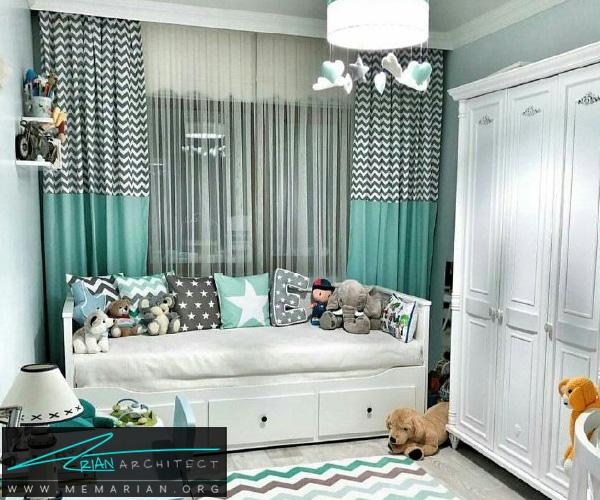 بهترین دکوراسیون اتاق خواب کودکان دختر و پسر (7)