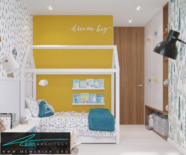 بهترین دکوراسیون اتاق خواب کودکان دختر و پسر (8)