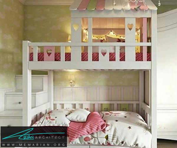 دکوراسیون اتاق کودک - بهترین چیدمان برای اتاق خواب پسر و دختر (5)