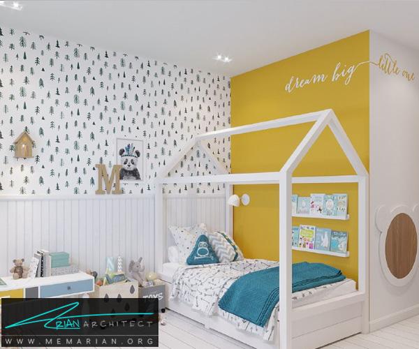 بهترین دکوراسیون اتاق خواب کودکان دختر و پسر (10)
