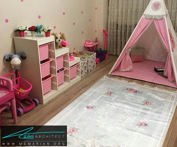 دکوراسیون اتاق کودک - بهترین چیدمان برای اتاق خواب پسر و دختر (6)
