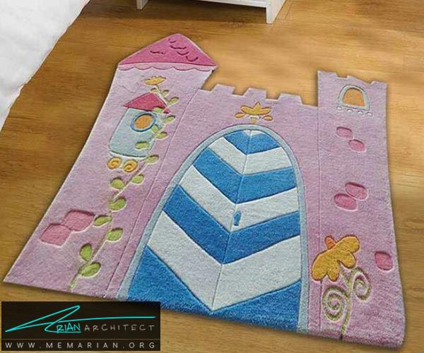 فرش و قالی در دکوراسیون اتاق کودک دختر و پسر (4)