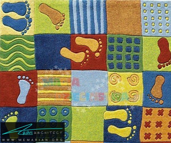 فرش و قالی در دکوراسیون اتاق کودک دختر و پسر (6)