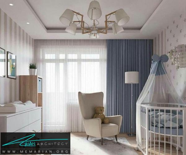 دکوراسیون اتاق کودک - بهترین چیدمان برای اتاق خواب پسر و دختر (7)