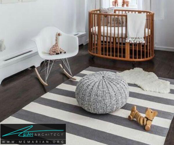 فرش و قالی در دکوراسیون اتاق کودک دختر و پسر (7)