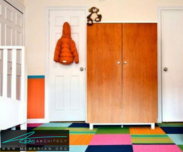 فرش و قالی در دکوراسیون اتاق کودک دختر و پسر (10)