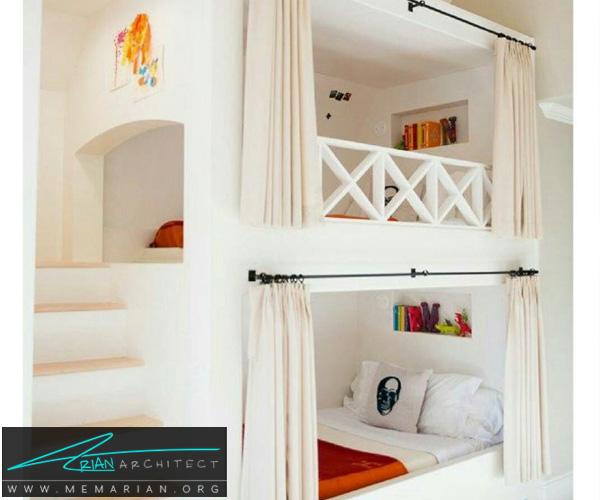 دکوراسیون اتاق کودک - بهترین چیدمان برای اتاق خواب پسر و دختر (8)