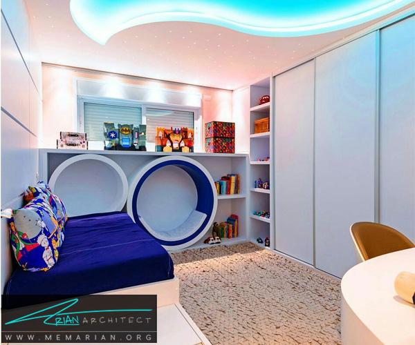 دکوراسیون اتاق کودک - بهترین چیدمان برای اتاق خواب پسر و دختر (9)
