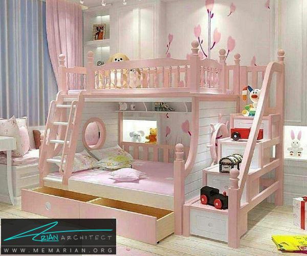 دکوراسیون اتاق کودک - بهترین چیدمان برای اتاق خواب پسر و دختر (10)