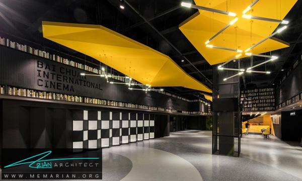 طراحی دکوراسیون داخلی سینما