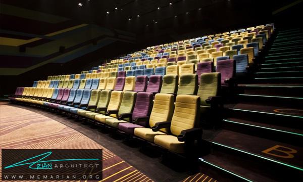 طراحی دکوراسیون سالن نمایش سینما