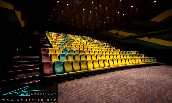 طراحی دکوراسیون سالن نمایش سینما (2)