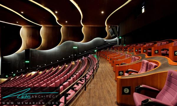 طراحی داخلی سینما - معماری و طراحی فضای داخلی سینما