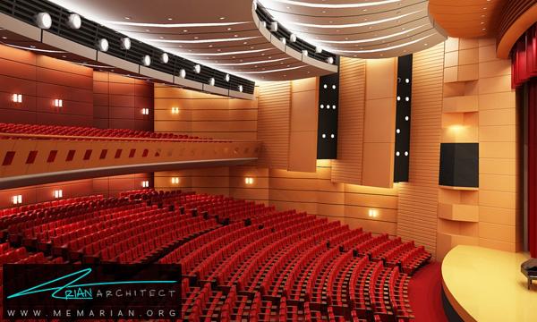 اهمیتطراحی داخلی سینما به صورت اختصاصی