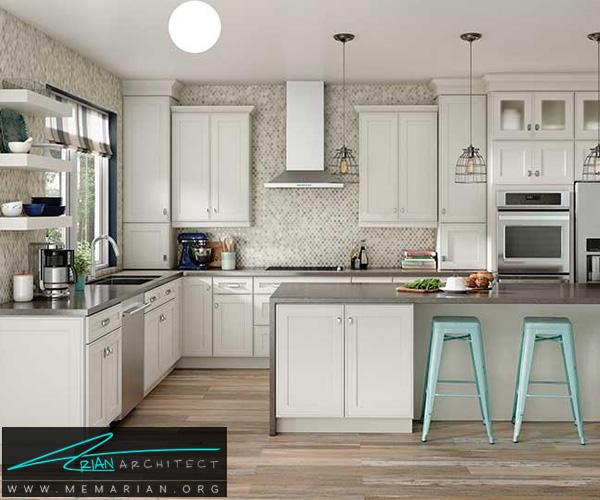 مدل کابینت آشپزخانه کشویی جذاب و کاربردی - کابینت آشپزخانه