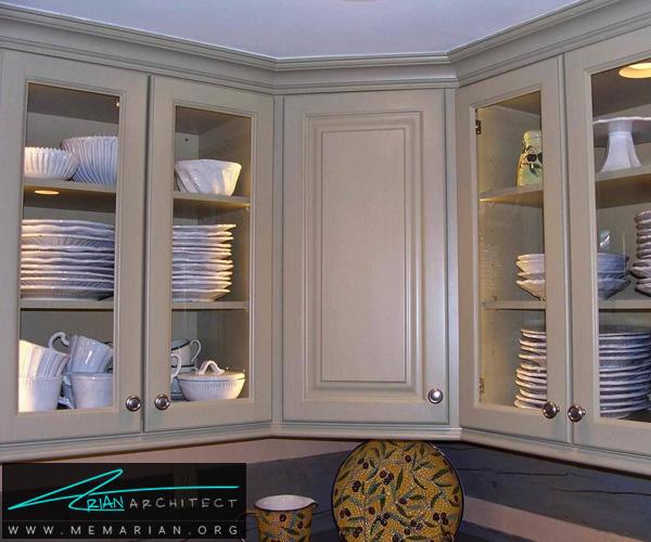 مزیت های کابینت های گلاس -کابینت آشپزخانه