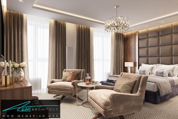 طراحی داخلی مدرن برای اتاق نشیمن