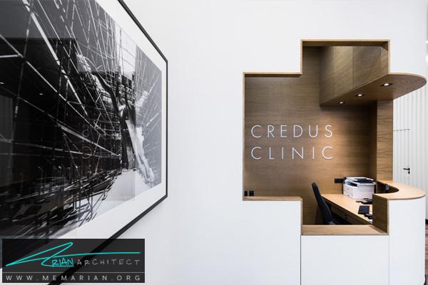 طراحی دکوراسیون لوکس و لاکچری برای مطب دندانپزشکی CREDUS در لهستان