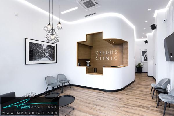 طراحی داخلی مدرن برای مطب دندانپزشکی CREDUS کشور لهستان