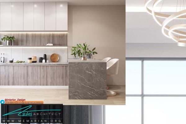 دکوراسیون آشپزخانه مدرن و سوپر لوکس