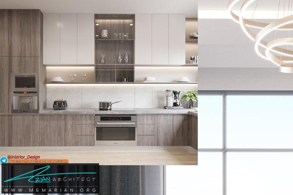طراحی دکوراسیون آشپزخانه مدرن و امروزی