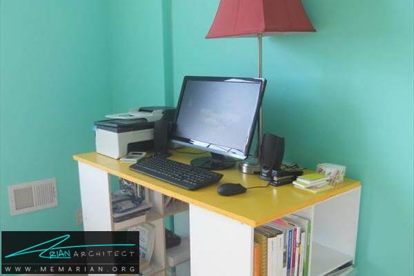 بررسی مدل های دکوراسیون میز کامپیوتر (6)