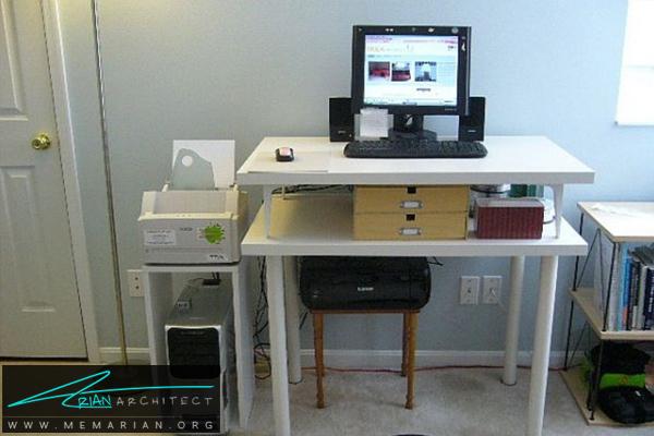 بررسی مدل های دکوراسیون میز کامپیوتر (19)