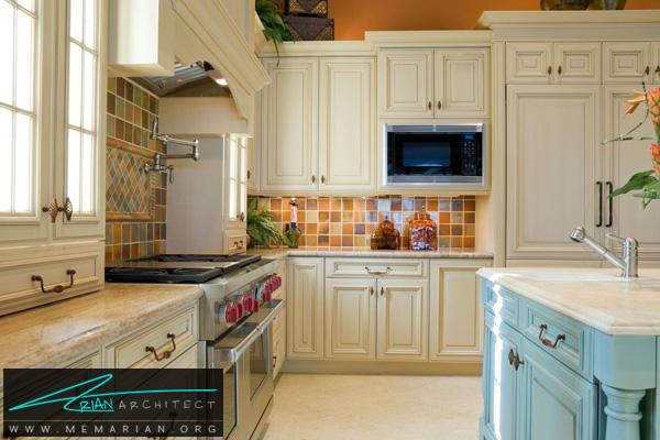 دکوراسیون آشپزخانه گرم و صمیمی - دکوتراپی آشپزخانه