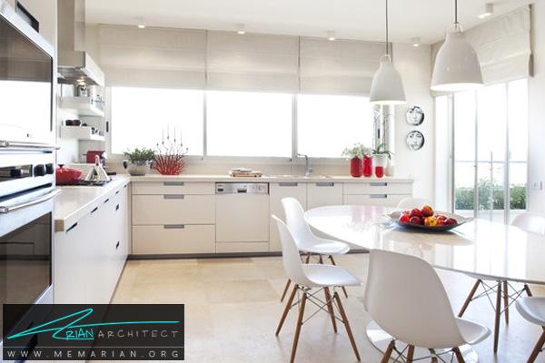 دکوراسیون آشپزخانه لایت و روشن - دکوتراپی آشپزخانه