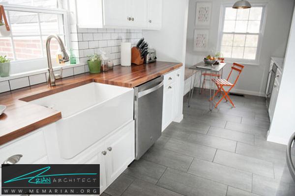 دکوراسیون آشپزخانه مدرن و لوکس - دکوتراپی آشپزخانه