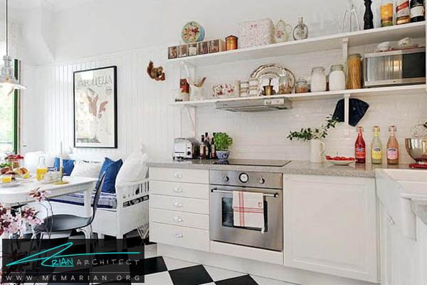 دکوراسیون آشپزخانه مدرن و جذاب - دکوتراپی آشپزخانه