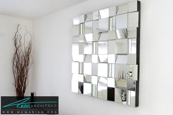 دکوراسیون آینه مدرن