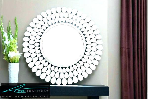 بزرگ تر نشان دادن فضا با استفاده از دکوراسیون آینه