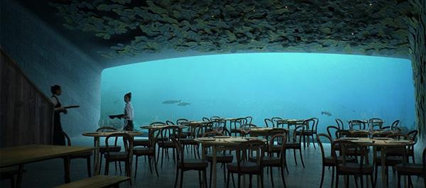 معرفی رستوران زیر آبی