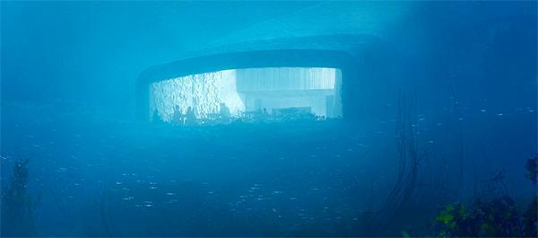 رستوران زیر آبی Under در نروژ