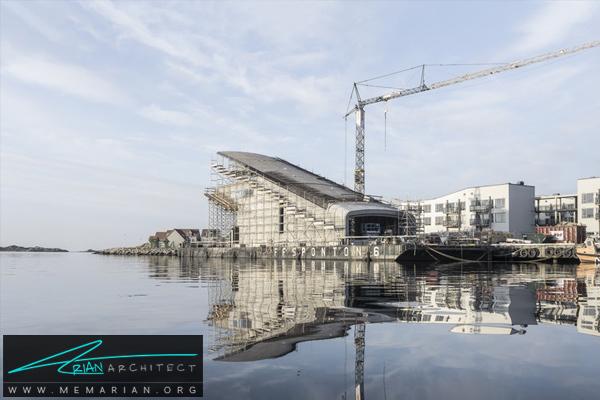 پروژه ساخت رستوران زیر آبی Under