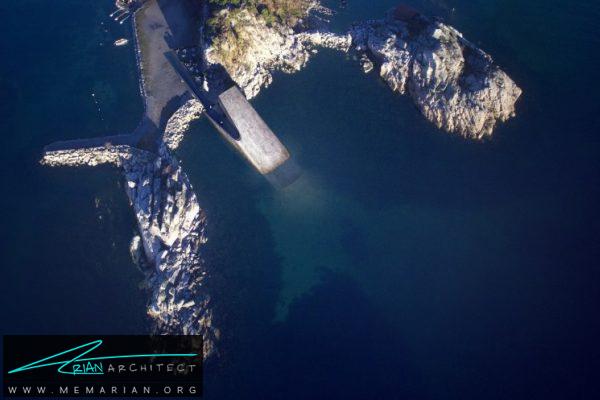تصویر ماهواره ای رستوران Under