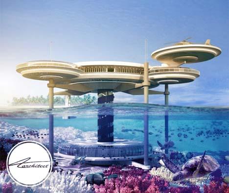 هتل مجلل و چندمنظوره دبی در میان آب ها -معماری زیر آب