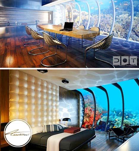 هتل مجلل و چندمنظوره دبی در میان آب ها 2